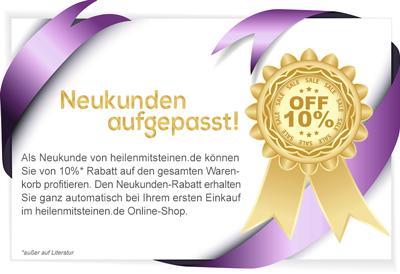 10% Neukundenrabatt im Online-Shop