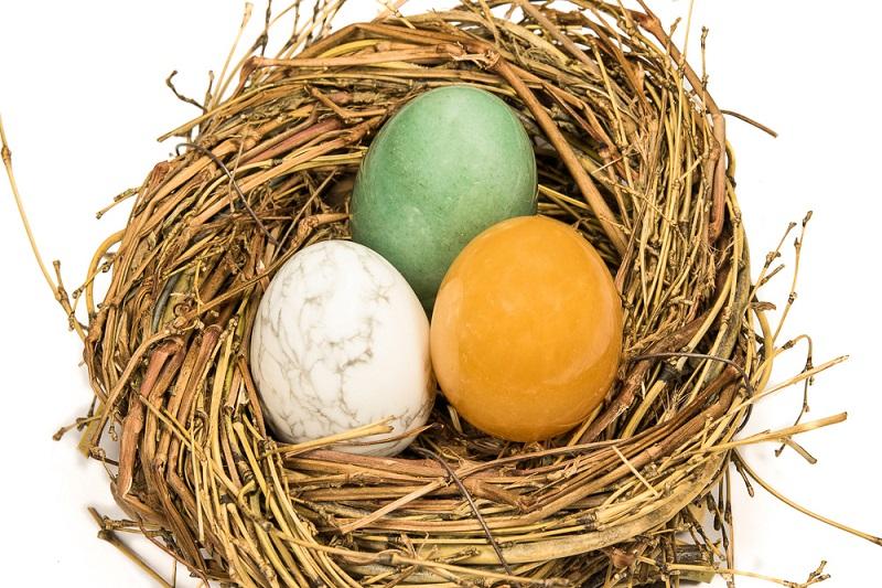 Edelstein-Eier - nicht nur für Ostern...